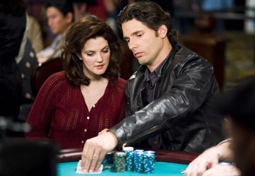 Drew Barrymore and Eric Bana in Warner Bros. Pictures' Lucky You - 2007