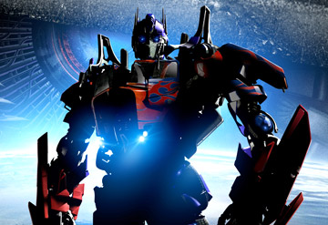 Optimus Prime, leader of the Autobots, in DreamWorks/Paramount Pictures' Transformers - 2007